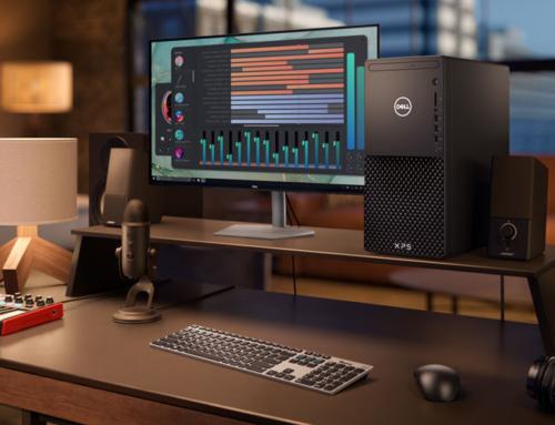Közlemény: Új XPS asztali számítógép és S sorozatú monitorok