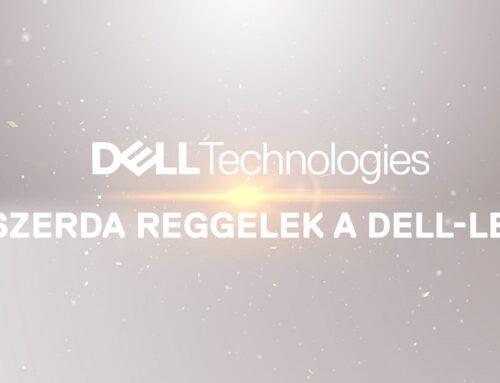 Szerda reggelek a Dell-lel: Kicsi a bors, de erős – bemutatkozik a PowerStore 500T!