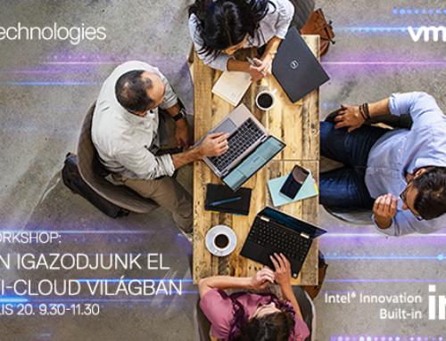 Dell Technologies VMware Cloud Workshop: Az ember és a gépek együttműködése