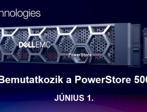 Bemutatkozik a Dell PowerStore 500